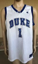 Duke Blue Devils Basketball Jersey #1 Colosseum Athletics Size XL College Eqpt