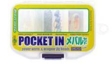 29386) ECOGEAR POCKET IN MEBARU Set Power Worm & ECOGEAR Jig Heads set