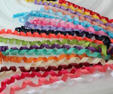 30 yards Curly Korker Ponytail curled Grosgrain Ribbon,mix colors,Corkscrew
