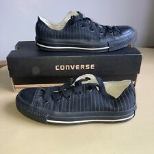 Converse Size 4 Lo-Tops Black Convers All Stars