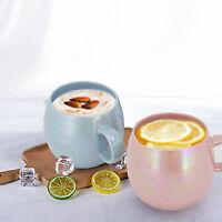 4PCS 16 Oz Gift Mug Cup Glossy Stoneware Coffee Cup Mug Set Tea Cup For Friend