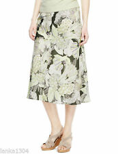 Polyester Business Floral Skirts for Women