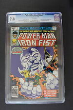 POWER MAN and IRON FIST #57 early NEW X-MEN Storm 1979 Netflix TV CGC NM+ 9.6