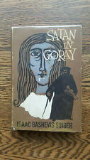 Isaac Bashevis Singer – Satan in Goray (1st/1st US 1955 hb with dw) Nobel Prize