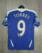 ADIDAS CHELSEA FC TORRES #9 2011-2012 Football Soccer Jersey Shirt Top Boys Sz M