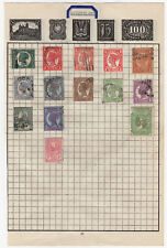 Queensland Stamps to Album page