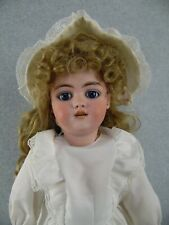 "22"" antique German bisque head composition Simon & Halbig Doll mold 1079 Dep"