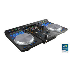 HERCULES UNIVERSAL DJ - 2 DECK USB / BLUETOOTH DJ CONTROLLER - Authorized Dealer