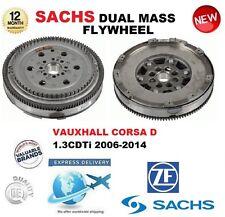 pour Opel Corsa D 1.3 CDTI 90BHP 95BHP 2006-2014 SACHS DMF Volant moteur Bimasse