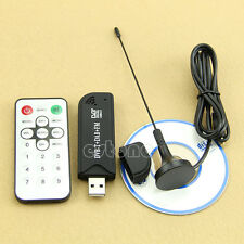 USB 2.0 Digital DVB-T SDR+DAB+FM HDTV TV Tuner Receiver Stick RTL2832U New