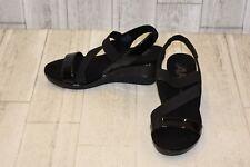 Anne Klein Peppina Wedge Sandal - Women's Size 7.5M Black