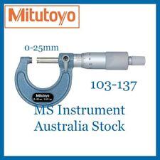 Genuine Mitutoyo 103-137 Outside Micrometer 0-25mm | Australia Stock