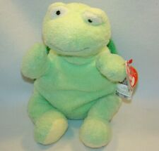 TY Pluffies Zips Turtle Plush Lovey With Tags 2007