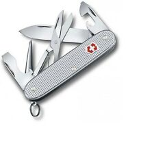 VICTORINOX KNIFE - PIONEER X SILVER ALOX - ALUMINUM HANDLES- MADE IN SWITZERLAND