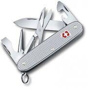 VICTORINOX KNIFE - PIONEER X SILVER ALOX - ALUMINUM HANDLES- MADE IN SWITZERLAND