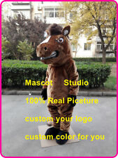 Horse Mascot Costume Cosplay Party Game Dress Outfit Advertising Christmas Adult