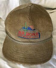 Old vint corduroy ARIZONA Fort Huachuca GC embroidered cap hat