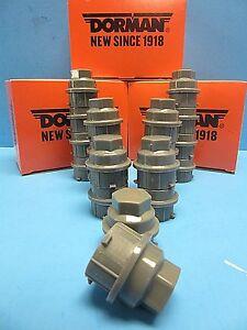 20 Wheel Lug Nut Cover Replace GM OEM # 9593229 & 9595118 Grey