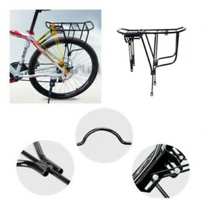 Bicycle Mountain Bike Carrier Rear Rack Seat Post Mount Pannier Luggage Holder