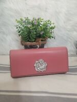 NEW MICHAEL Kors Bellamie Polished Leather Clutch