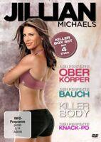 JILLIAN MICHAELS-KILLER BOX SET - MICHAELS,JILLIAN  4 DVD NEW