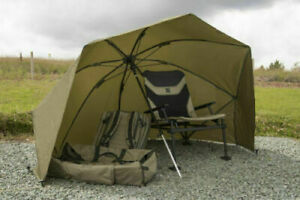 Korum 50'' Graphite Brolly Shelter KMLUG/53 - Fishing Umbrella / Shelter