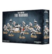 Warhammer 40K Tau Empire Fire Warriors Strike Team Breacher Team Drones Turret