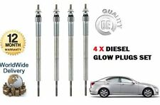 FOR LEXUS IS200D IS220D 2.2DT DIESEL  2005-> NEW 4 X DIESEL GLOW PLUG SET