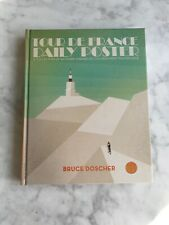 NEW Tour de France Daily Poster Book by Bruce Doscher illustration Art Cycling