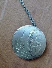 Silver Sombrero/Cactus Brooch/Pendant Vintage Mexico/Mexican Sterling