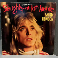 "MICK RONSON - Slaughter On 10th Avenue - 12"" Vinyl Record LP - G+"