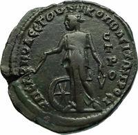 GORDIAN III 241AD Genuine Ancient Nicopolis ad Istrum Roman Coin NEMESIS i76082