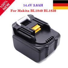 3000mah Akku für Makita |14,4V 3.0Ah | Li-ion | BL1440 BL1430 BL1415 BL1450