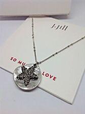 J.Jill Necklace   NWT  Pave   STAR Necklace