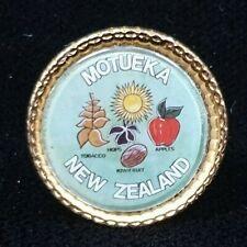 MOTUEKA NEW ZEALAND SOUVENIR BADGE PIN