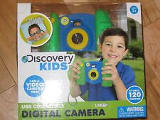 Discovery Kids USB Compatible Blue Green Digital Camera Video 120 Photo 1.5 LCD