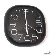 Design Wanduhr, Bürouhr, Küchenuhr wall-clock (017-schwarz)
