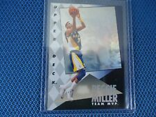 1993 UPPER DECK REGGIE MILLER TEAM MVP HOLOGRAM BACKGROUND