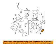 NISSAN OEM 07-18 Frontier-Cup Holder 96965ZS00A