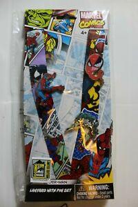 2020 SDCC Exclusive Spiderman Laynard & Pin Set Monogram Limited Edition & Venom