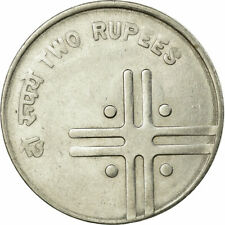 [#728905] Coin, INDIA-REPUBLIC, 2 Rupees, 2007, EF(40-45), Stainless Steel