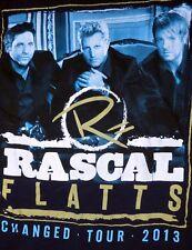 Rascal Flatts Changed 2013 Tour Shirt Size Extra Large Tour Dates On Back