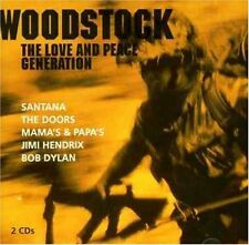 Woodstock-the love and peace Generation Beach Boys, Jimi Hendrix, Joachim [double CD]