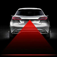 Car Anti-Collision Cool Pattern End Tail Rear Fog Driving Laser Caution Light