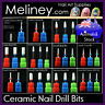 Ceramic Nail Drill Bits File Cuticle Buffer Under Nails Cleaner Sanding Electric