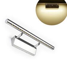 Lampada Specchio Bagno Applique Parete 40cm Luce LED 5W 3500K Acciaio Inox