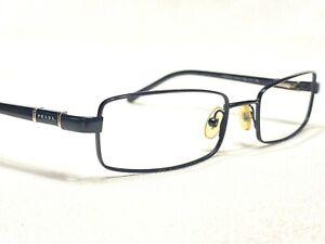 Prada VPR67G 1BO-1O1 Men's Black Designer Eyeglasses Frames 51/17~135