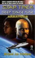 Saratoga (Star Trek Deep Space Nine, No 18)-ExLibrary