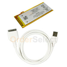 Battery+USB Data Sync Charger Cable for Apple iPod Nano Gen 4G 4th Gen 100+SOLD