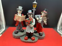 Original Gilde Clown Nachts an der Laterne 16 cm. Top Zustand
